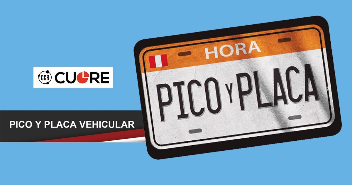 """Estudio de opinión de norma """"Pico y Placa"""" en Lima por CCR Cuore"""